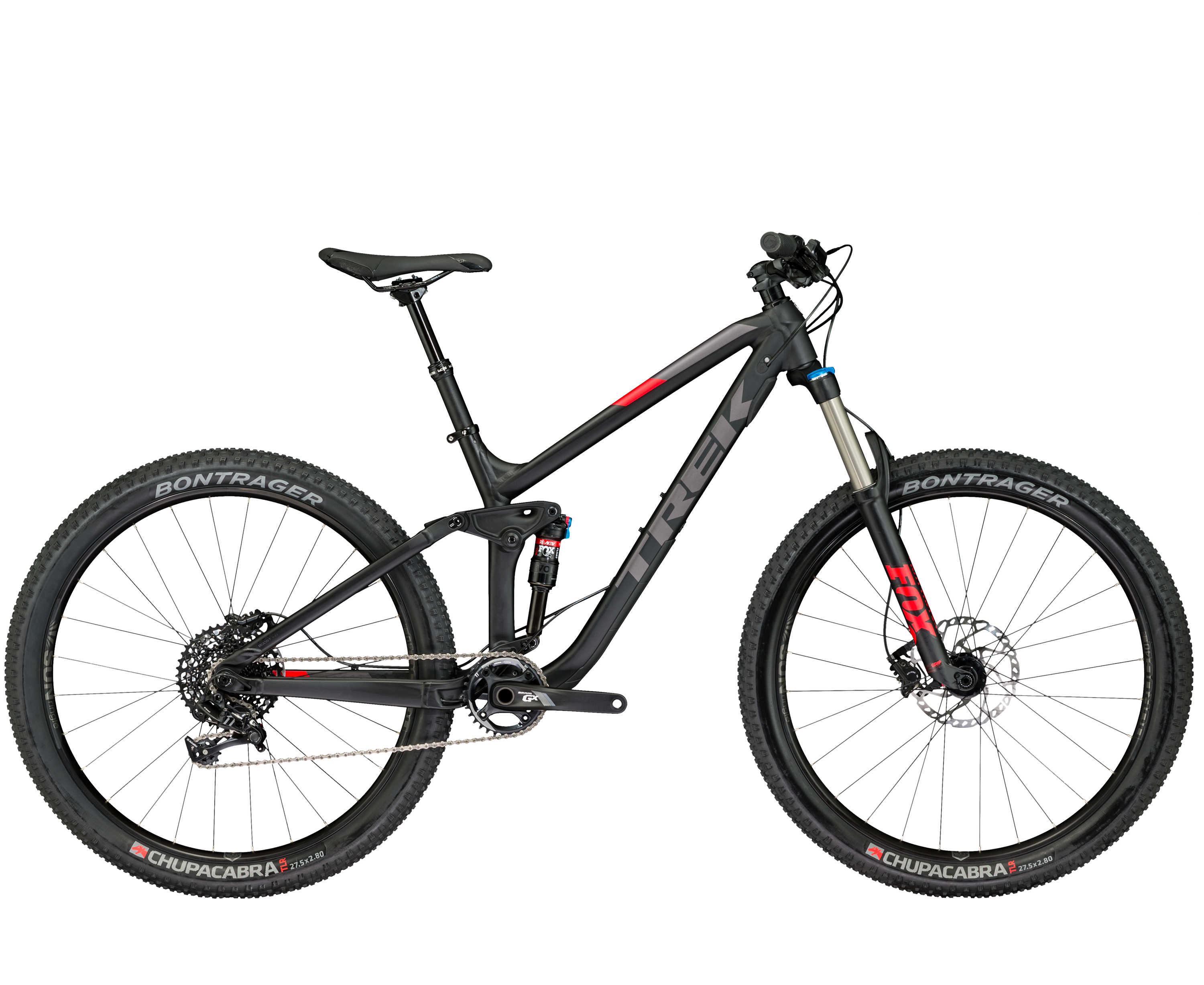 Trek Fuel EX 8 27,5+ Matte Trek Black 2017