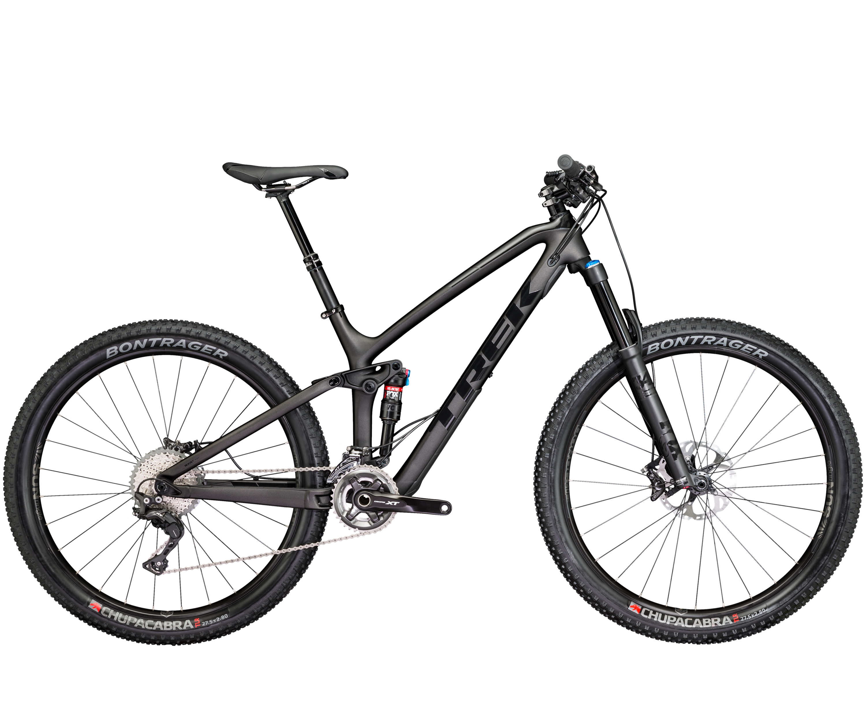 Trek Fuel EX 9.8 27,5+ Matte/Gloss black 2017