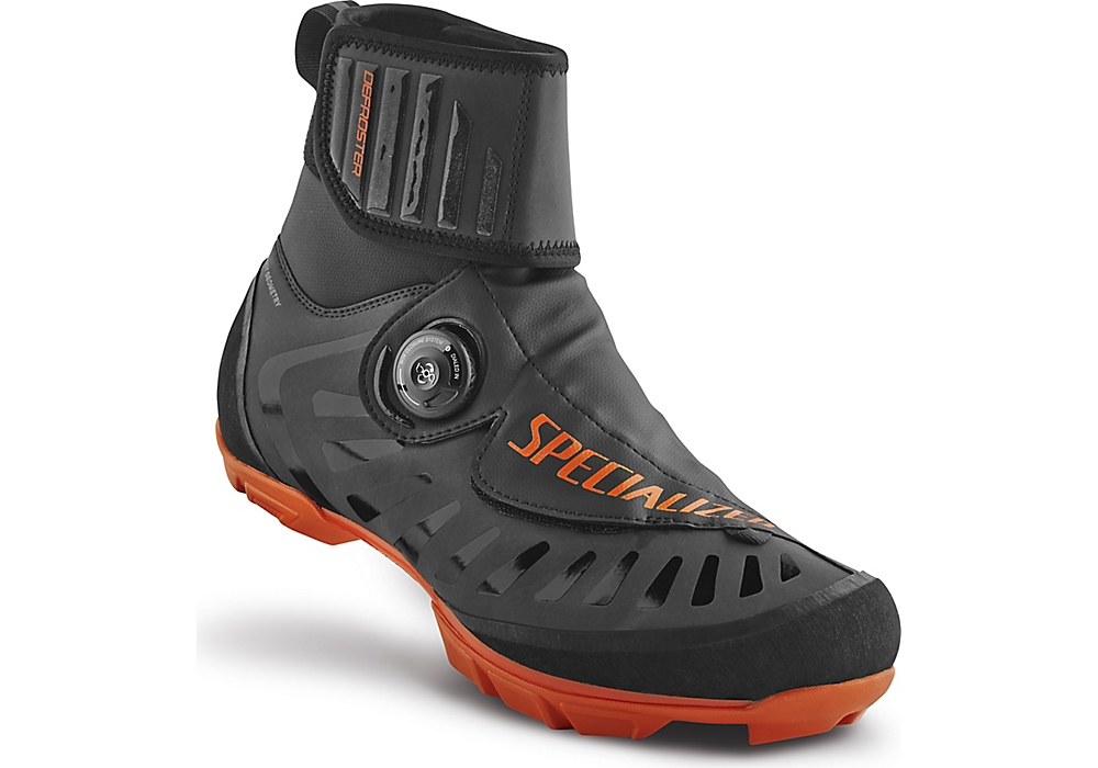 MTB tretry Specialized Defroster Trail MTB black neon orange 8d01368a9d