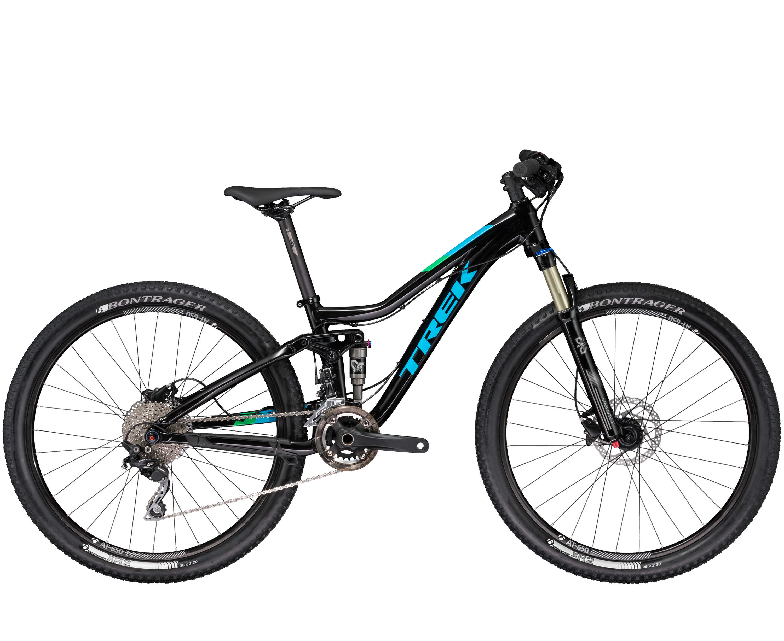 Trek Fuel EX Jr Semigloss Trek Black 2017 - S