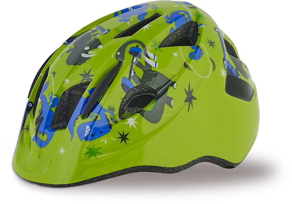 dětská helma Specialized Mio green/blue dinos toddler