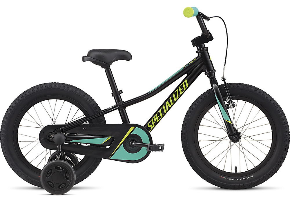 Specialized Riprock 16 coaster black/emerald green/hyper 2019