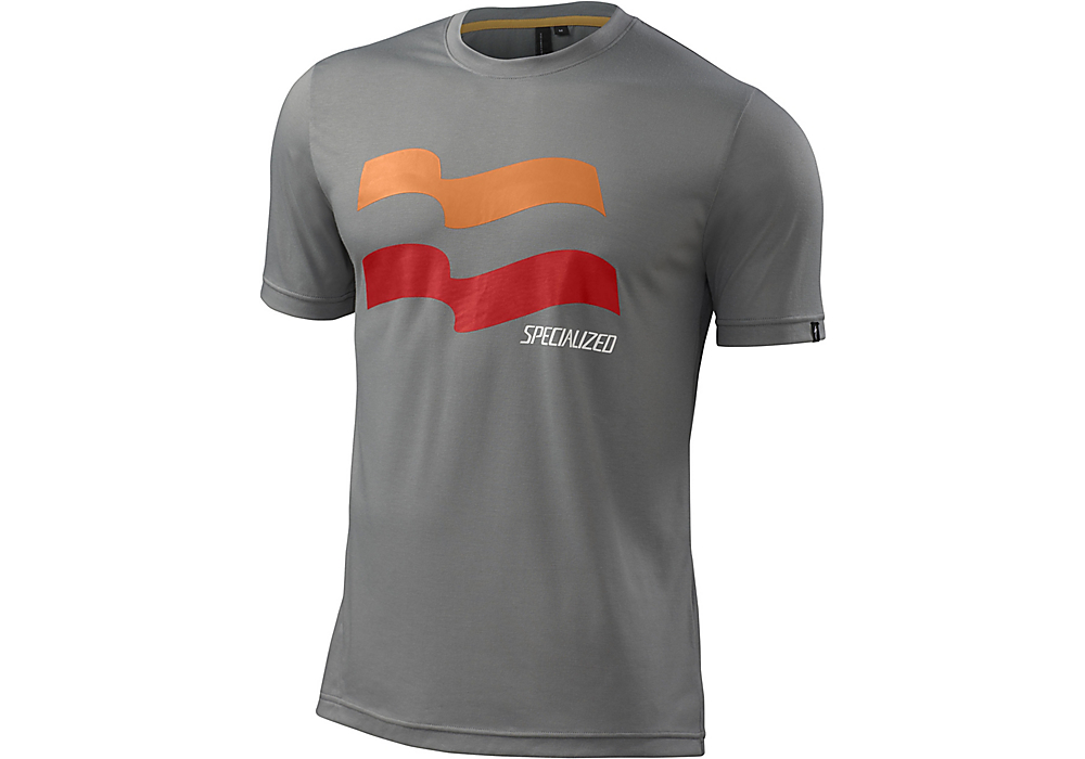 dres Specialized Enduro drirelease tee grey - L