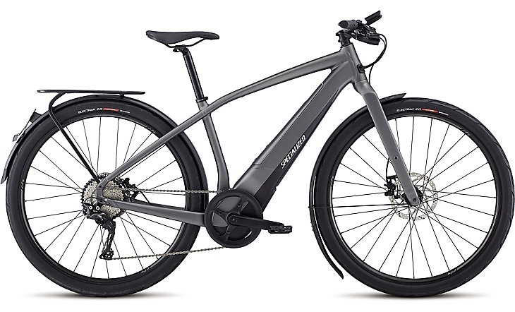 elektrokolo Specialized Turbo Vado 5.0 NB men Satin Charcoal Black/ Chrome 2018