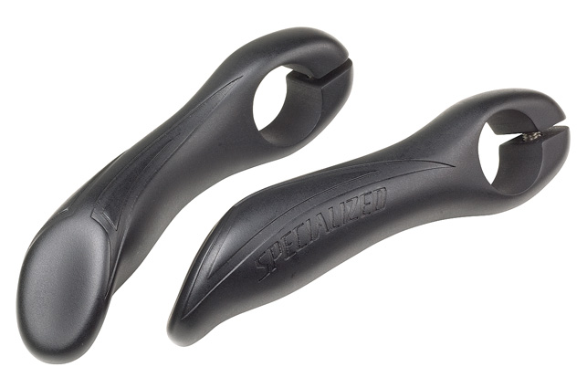 rohy Specialized P2 OVERENDZ BAR ENDS black