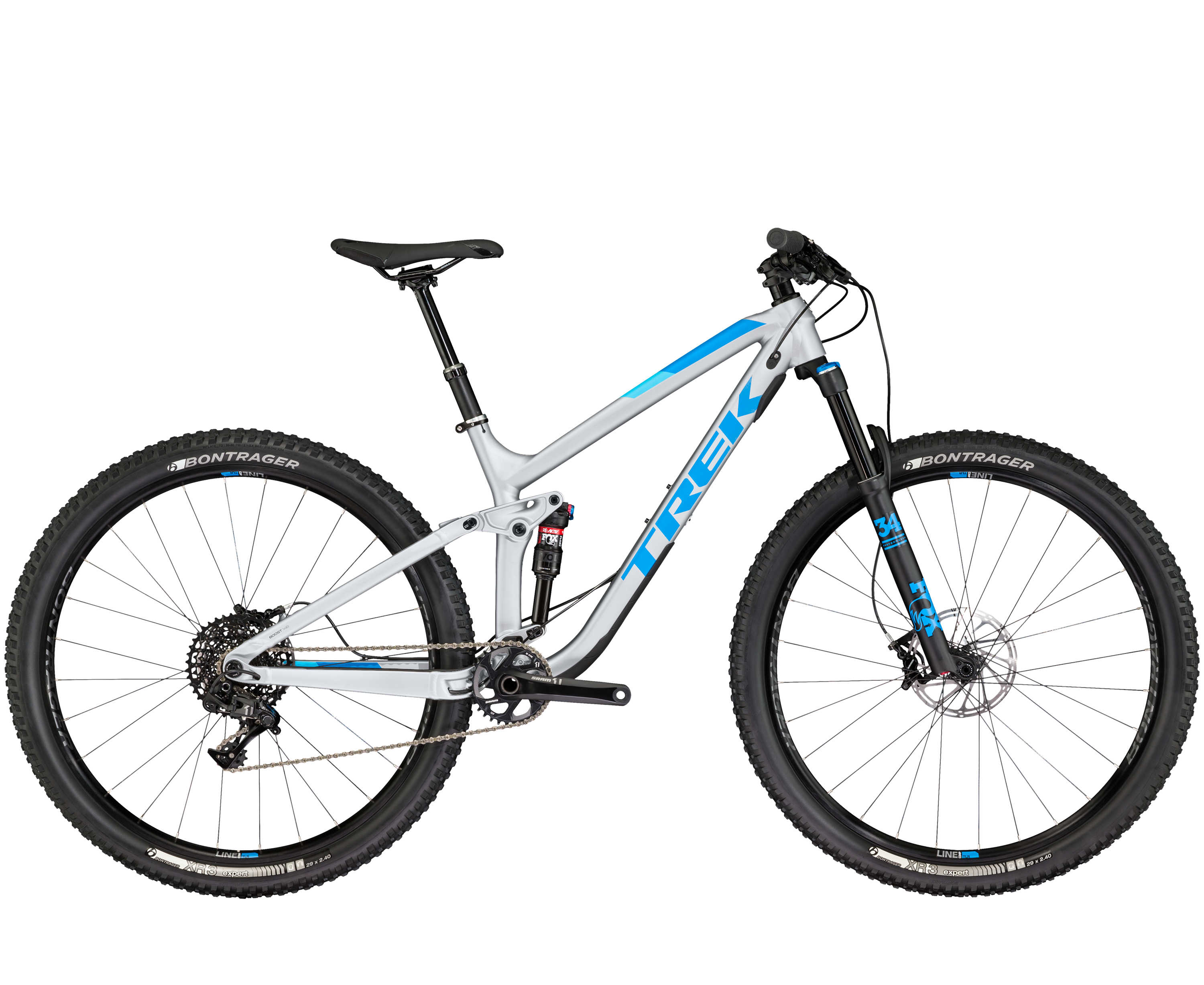 Trek Fuel EX 9 29 Matte Quicksilver 2017