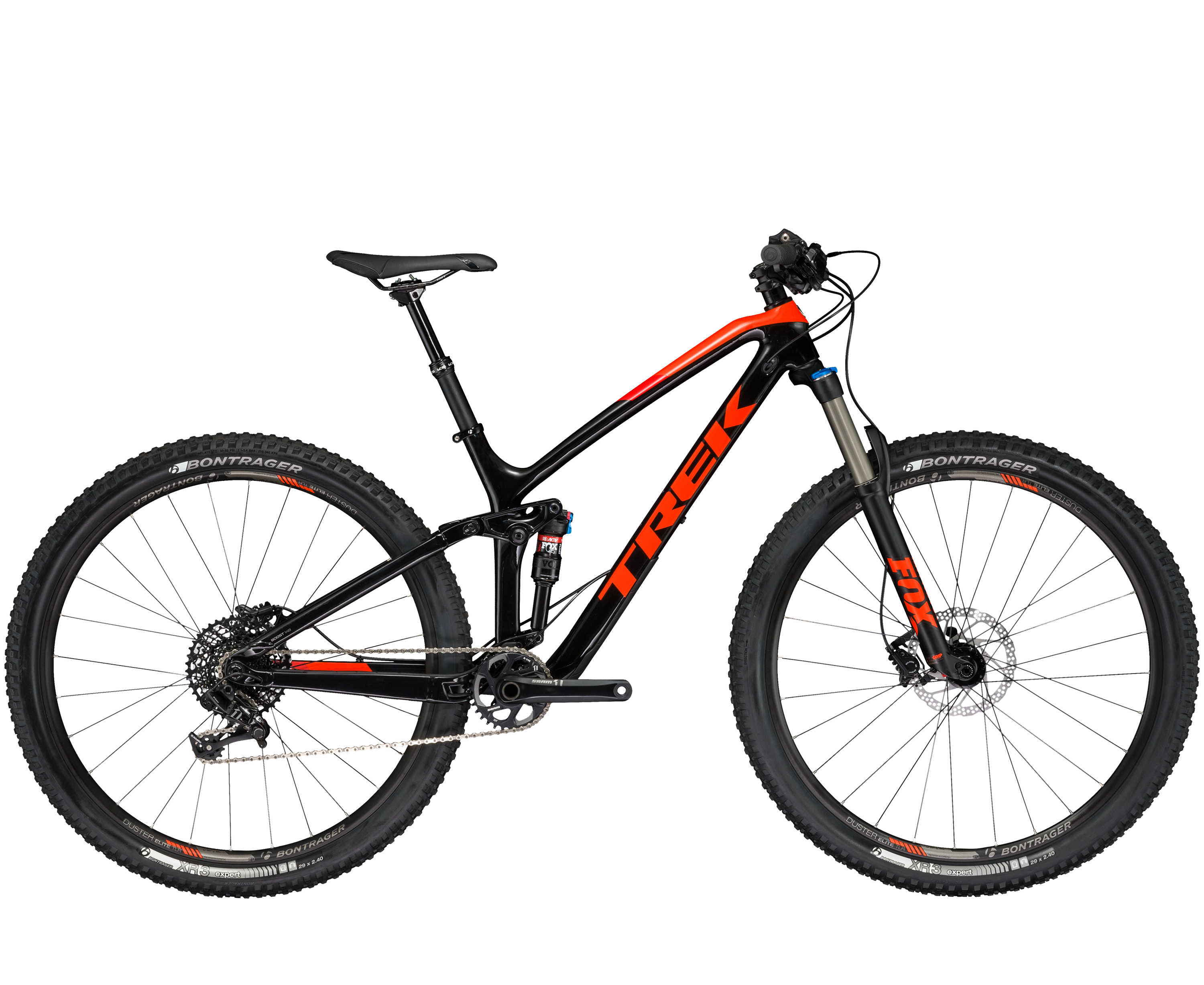 Trek Fuel EX 9.7 29 Trek Black/Roarange 2017