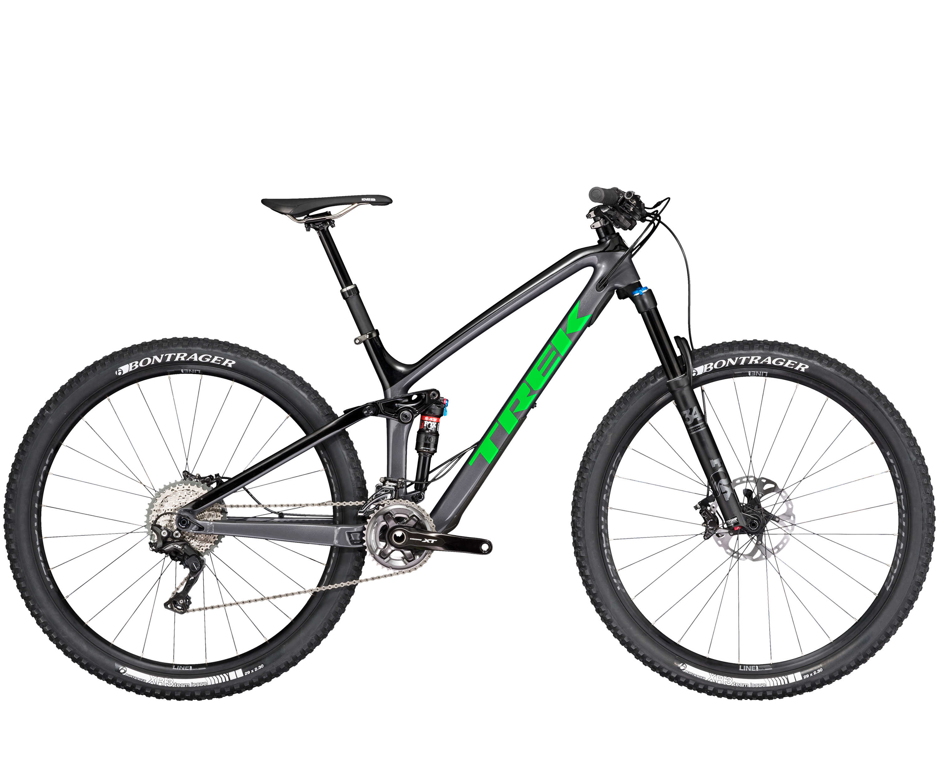 Trek Fuel EX 9.8 29 Charcoal/Black/Green-P1 2017