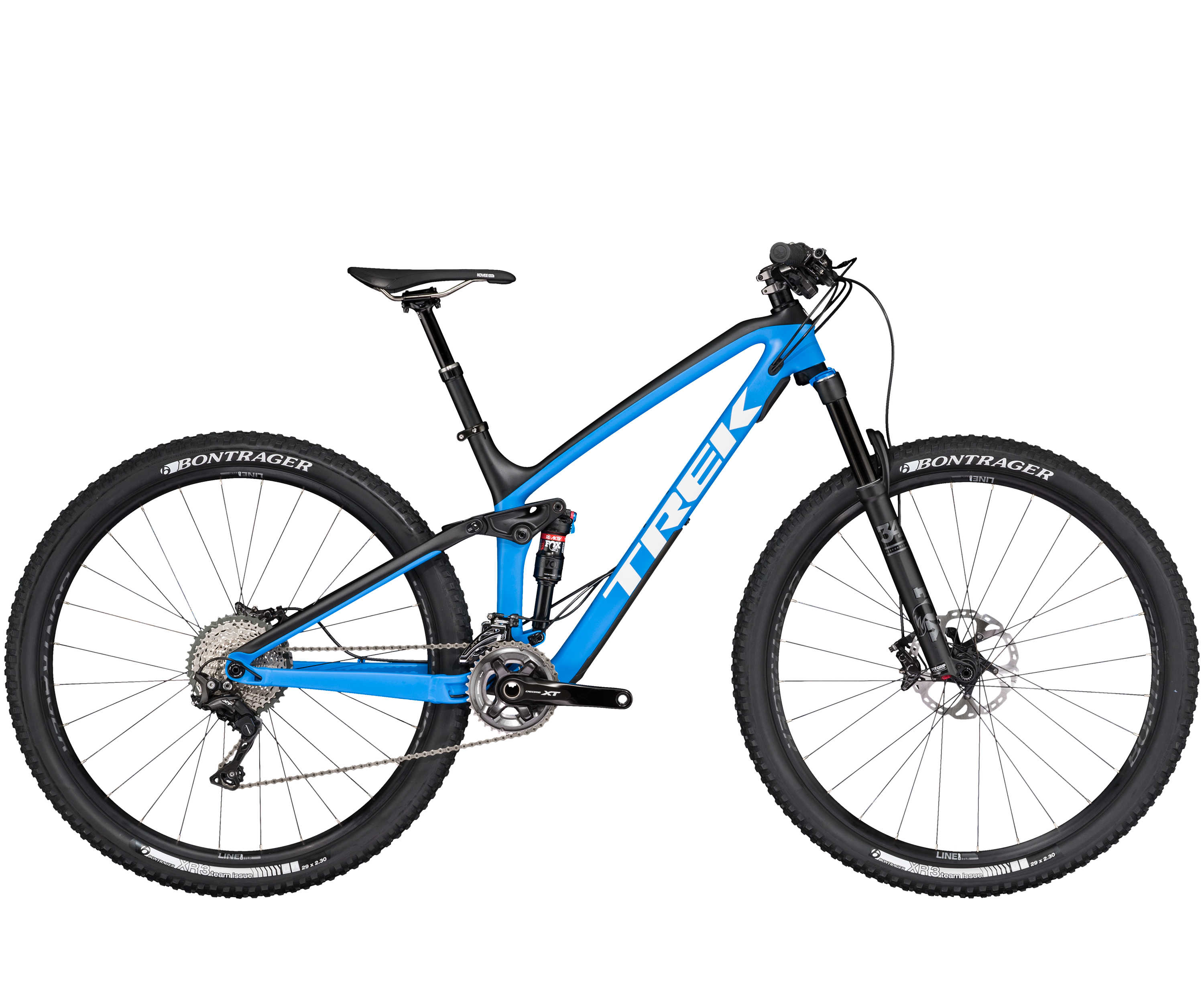 Trek Fuel EX 9.8 29 Matte Blue/Black/White-P1 2017