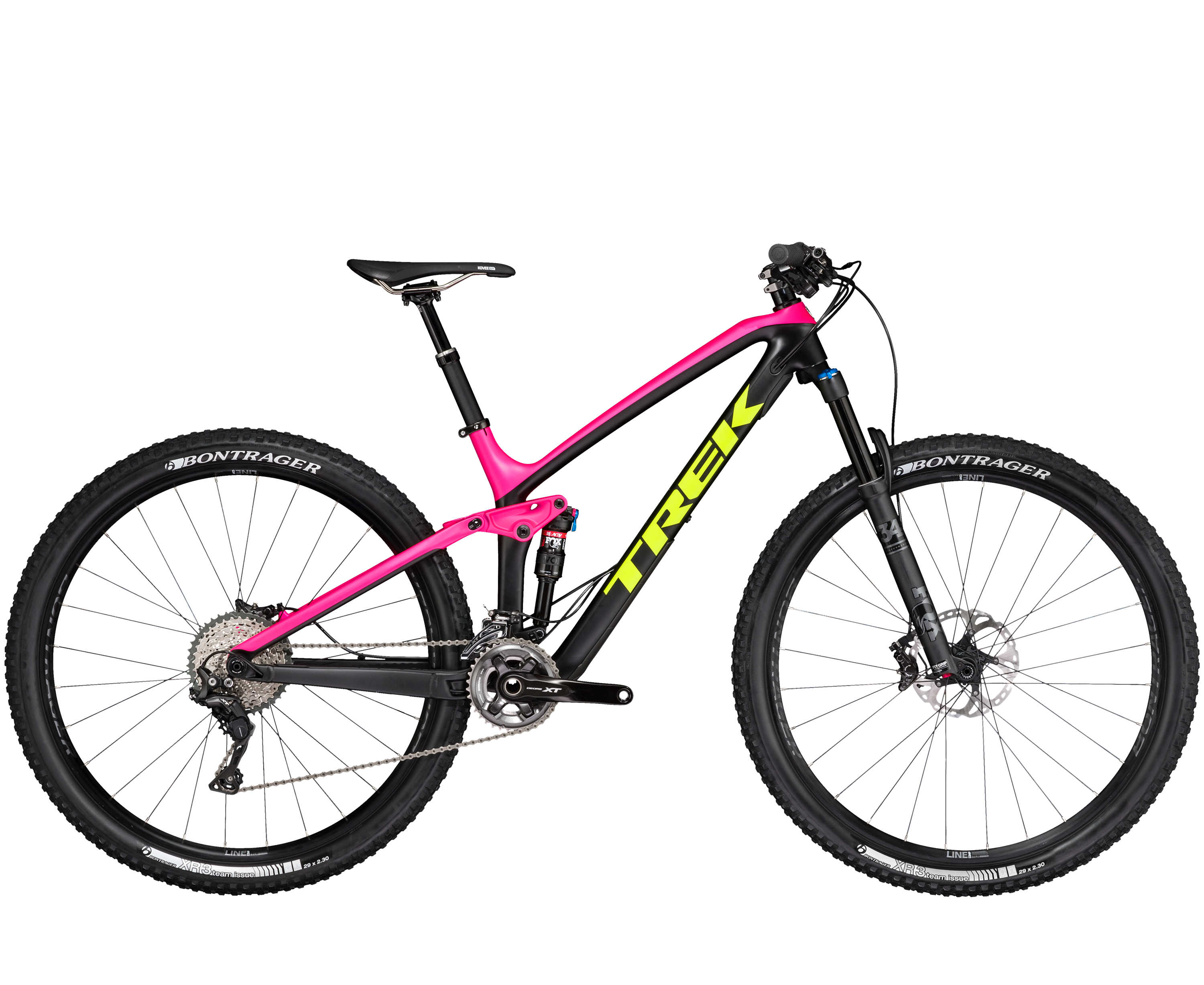 Trek Fuel EX 9.8 29 Matte Black/Pink/Yellow-P1 2017
