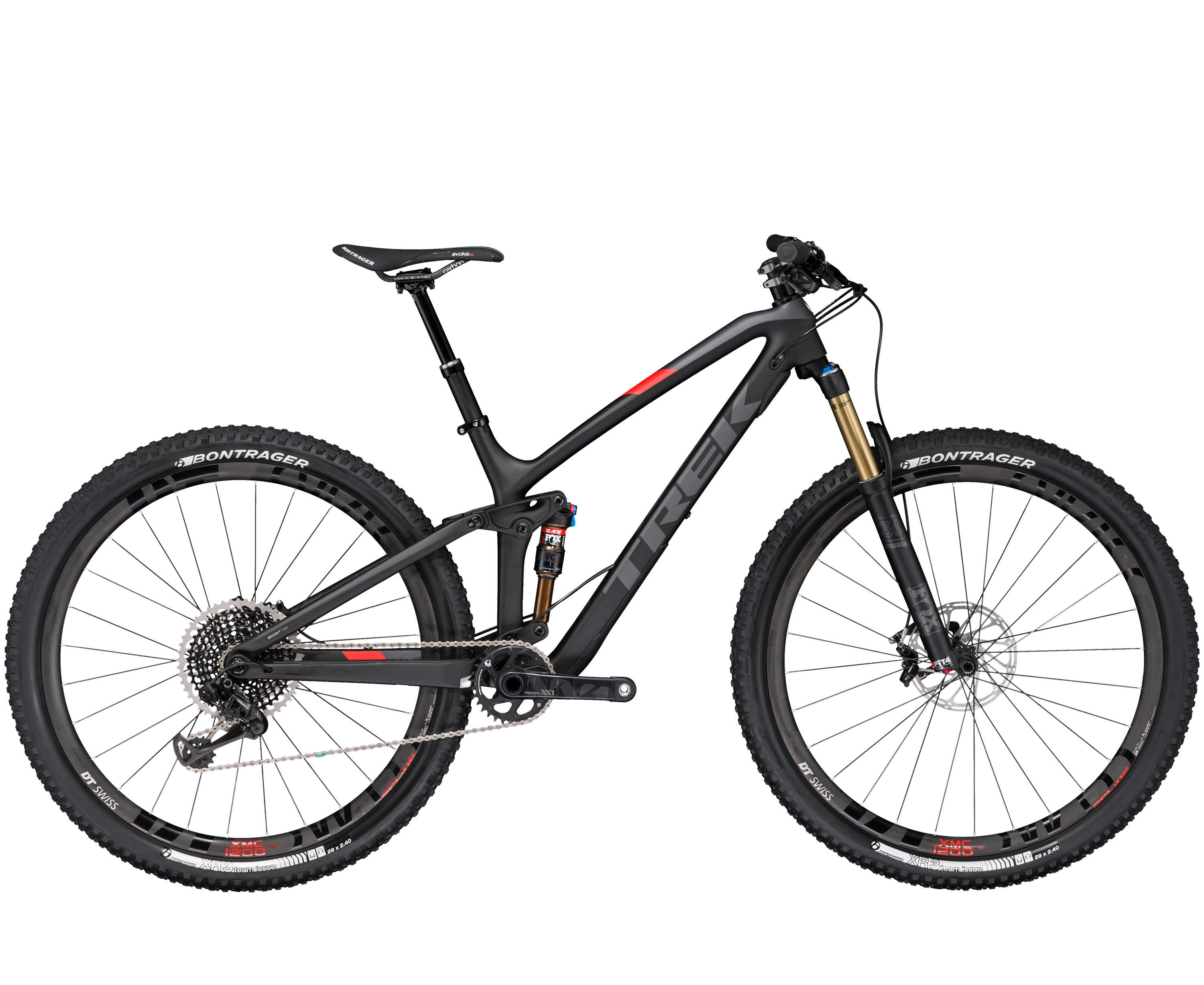 Trek Fuel EX 9.9 29 Matte Trek Black/Metallic Charcoal 2017