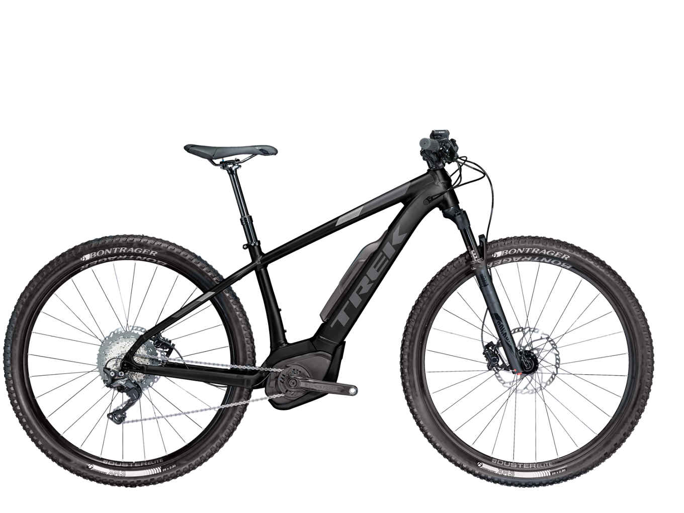 elektrokolo Trek Powerfly 7 matte trek black/solid charcoal 2018