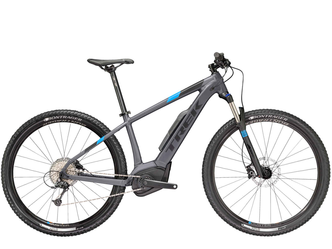 elektrokolo Trek Powerfly 5 matte solid charcoal/matte trek black 2018