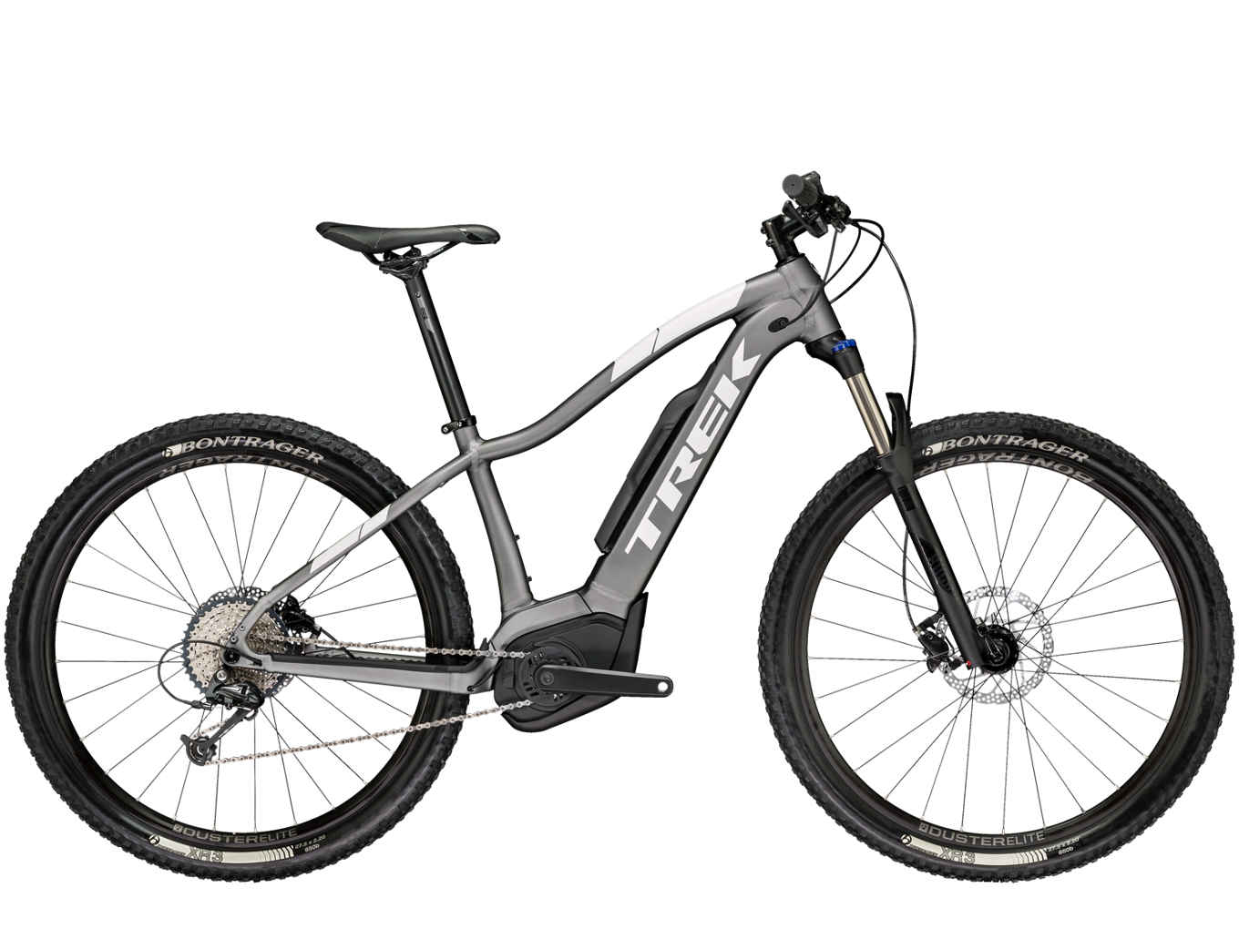 elektrokolo Trek Powerfly 5 WSD matte anthracite/gloss crystal white 2018