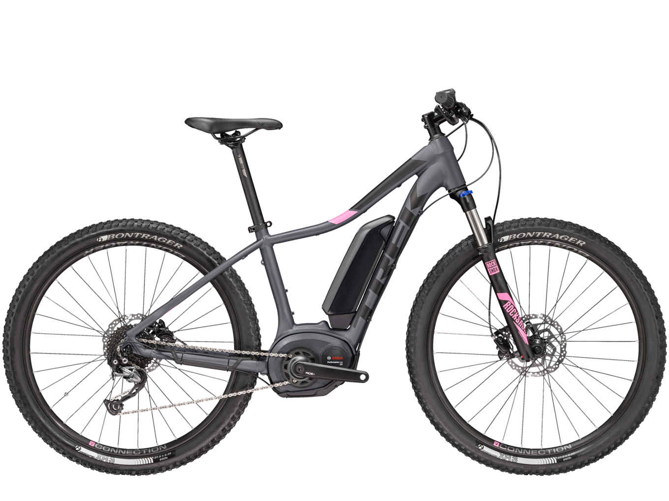 elektrokolo Trek Powerfly 4 WSD matte solid charcoal 2018