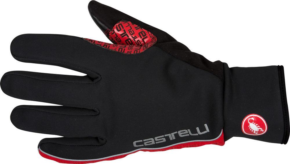rukavice Castelli Spettacolo černá červená c9283f7e0a