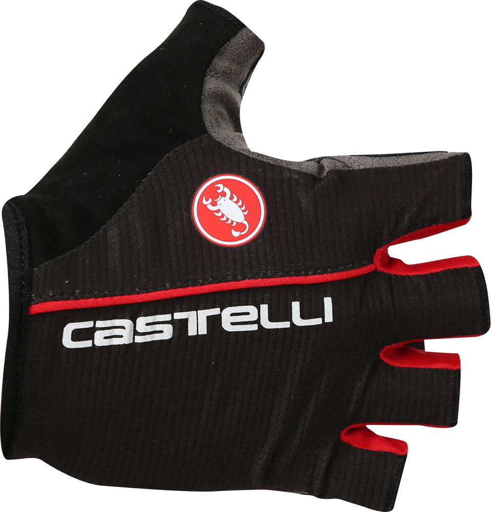 rukavice Castelli Circuito black/red