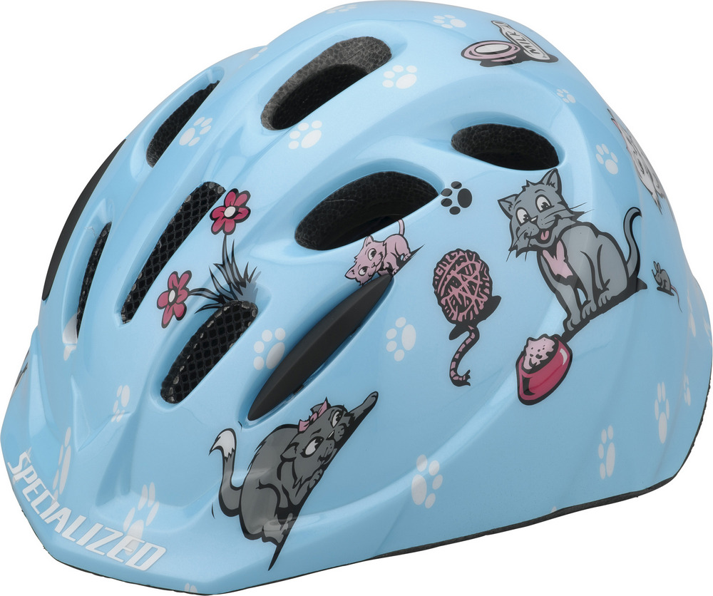 dětská helma Specialized Small Fry Toddler blue kittens