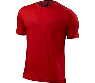 dres Specialized Enduro drirelease tee red