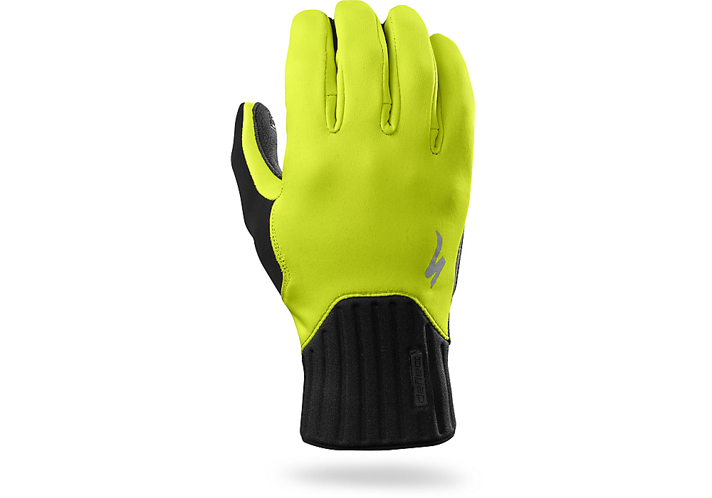 rukavice Specialized Deflect Glove neon yellow