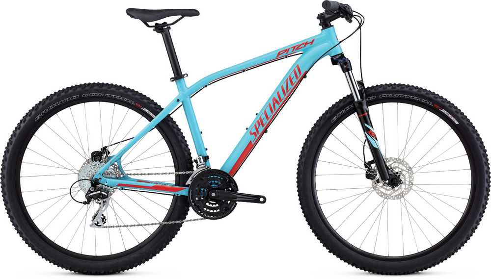 Specialized Pitch 650b gloss light blue/nordic red 2017