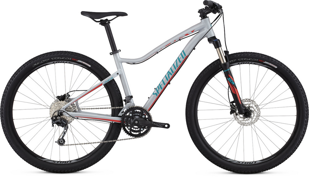 Specialized Jynx Comp 650b satin filthy white/nordic red/turquoise 2017 - S