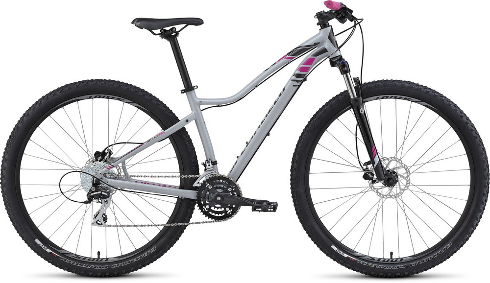 Specialized Jett 29 gloss filthy white/charcoal/pink 2016 - L