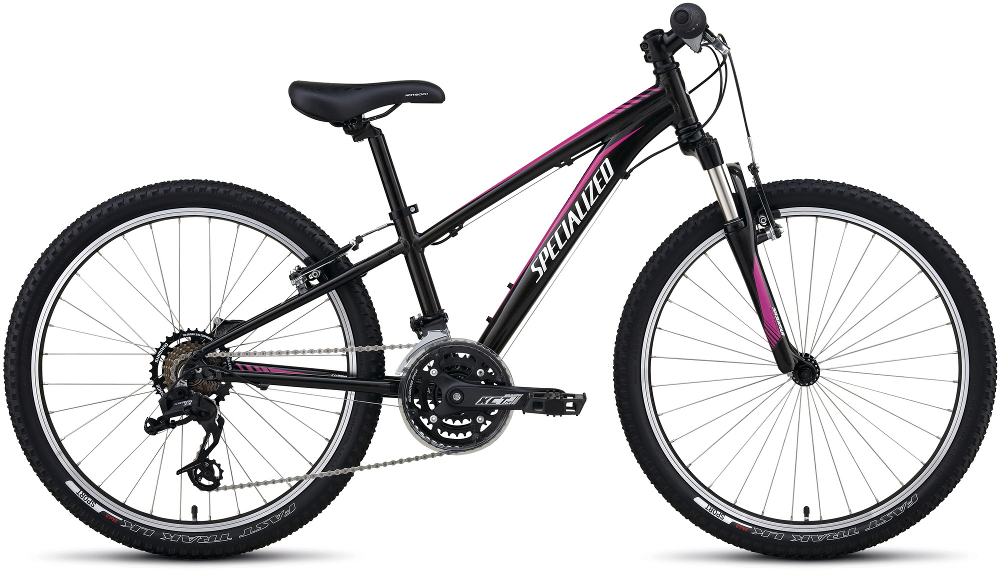 Specialized Hotrock 24 XC GIRL black/pink/white 11