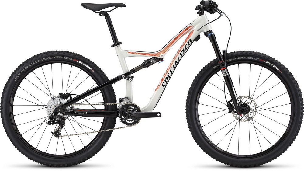 Specialized Rumor FSR Comp 650B dirty white/black/coral 2016 - L