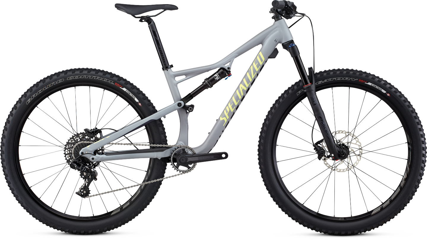 Specialized Camber WMN FSR Comp 650b cool gray/deep indigo/powder green 2017