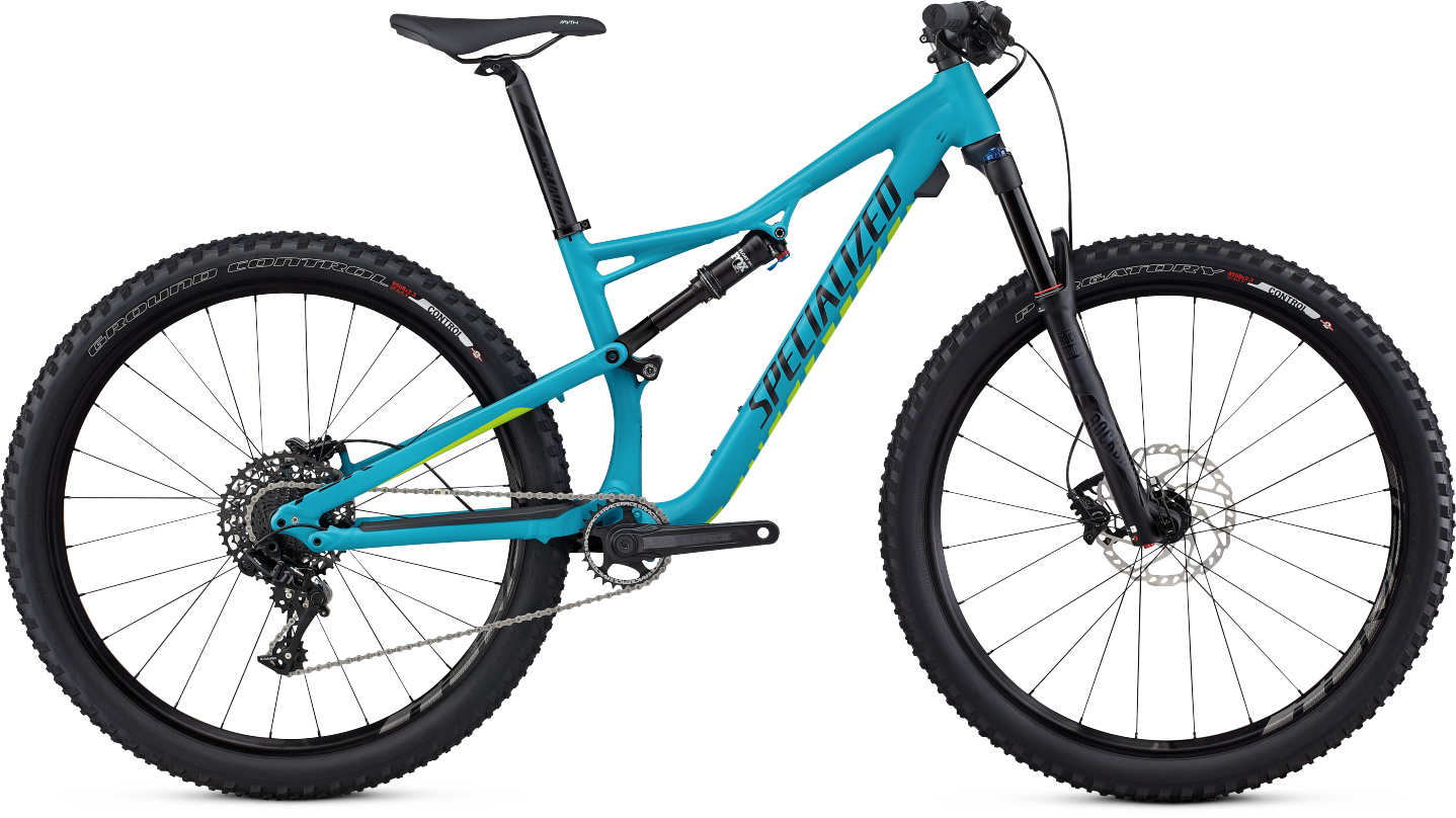 Specialized Camber WMN FSR Comp 650b turquoise/hyper green/tarmac black 2017