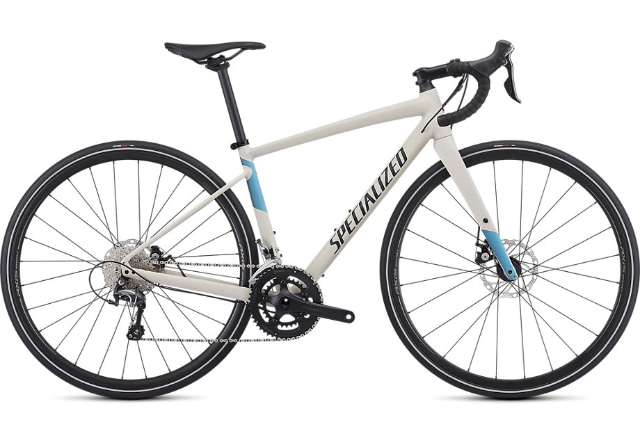 Specialized Diverge E5 Elite WMN satin white mountains/tropical teal-nice blue 2019
