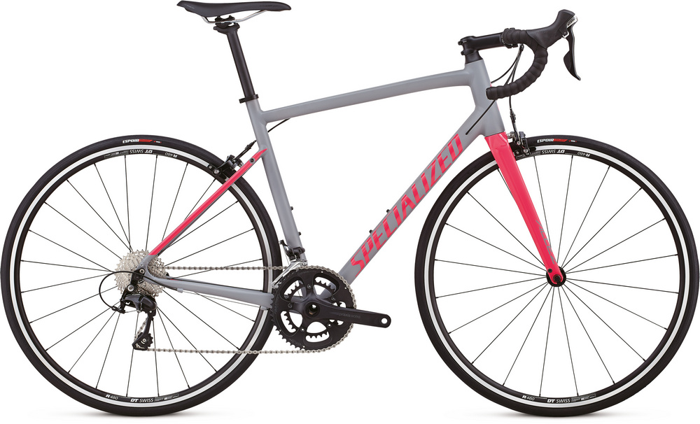 Specialized Allez elite satin cool gray/gloss hot pink 2018