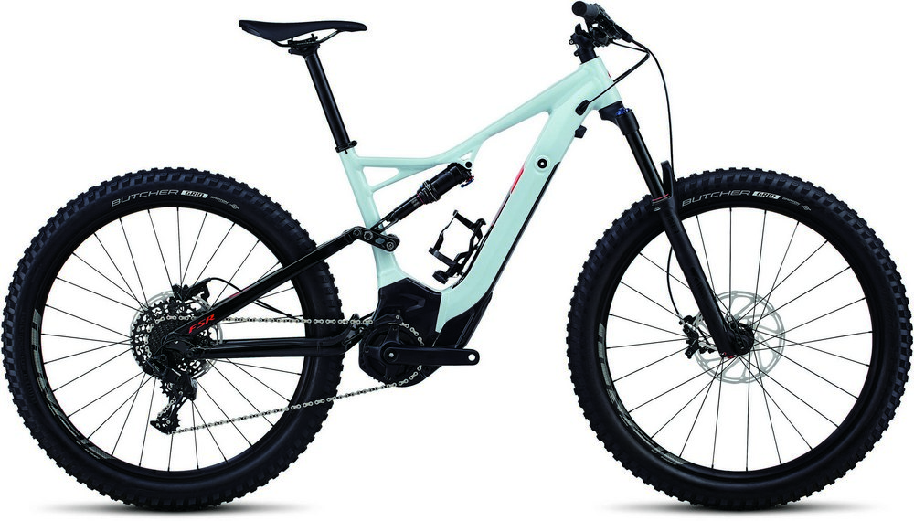 elektrokolo Specialized Turbo Levo FSR 6Fattie ice blue/rocket red 2018