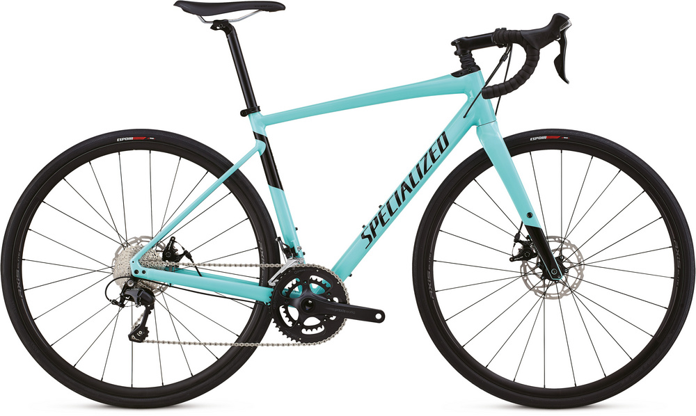 Specialized Diverge E5 comp gloss light turquoise/tarmac black 2018