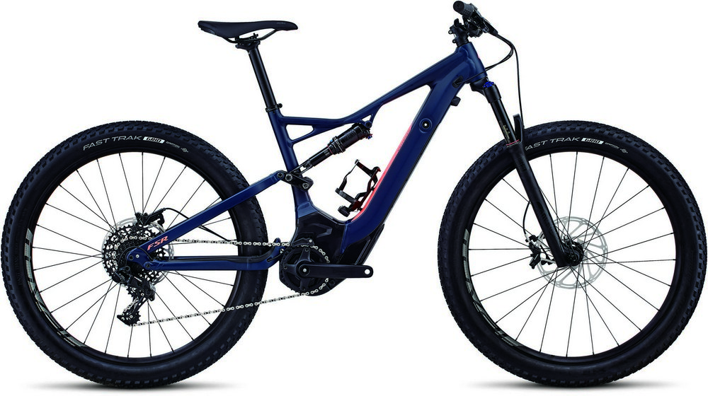 elektrokolo Specialized Turbo Levo FSR short travel 6Fattie WMN blue/acid lava 2018