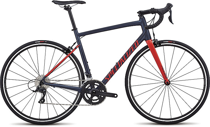 Specialized Allez sport satin navy/gloss nordic red 2019