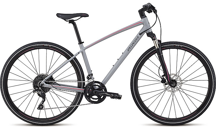 Specialized Ariel Elite alloy cool gray/acid pink/tarmac black reflective 2018
