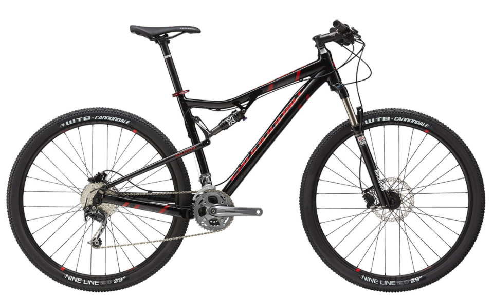 Cannondale Rush 29 3 BLK 2015 - S