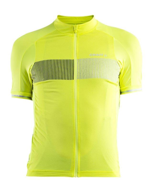 dres Craft Verve Glow neon yellow/black - M