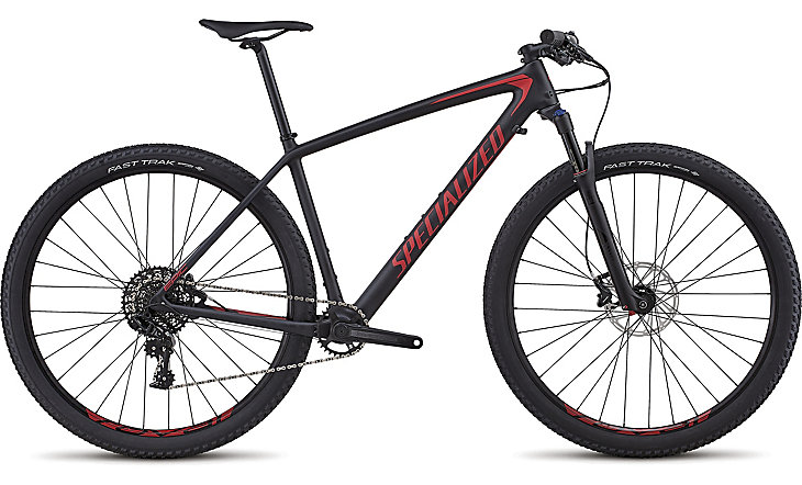Specialized Epic HT comp carbon 1x satin black/flo red 2018