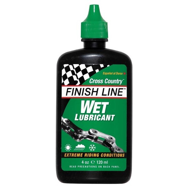 olej Finish Line Wet kapátko 120ml
