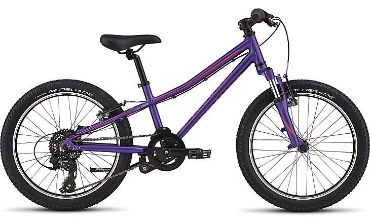 Specialized Hotrock 20 purple/black/acid red 2019