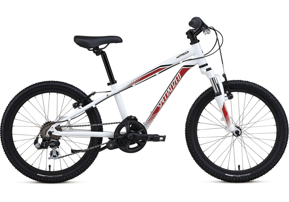Specialized Hotrock 20 6 SPD INT white/red/black