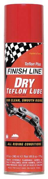 olej Finish Line Dry Lube sprey 240 ml