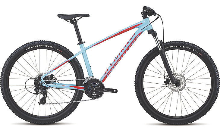 Specialized Pitch 650b gloss light blue/rocket red 2018