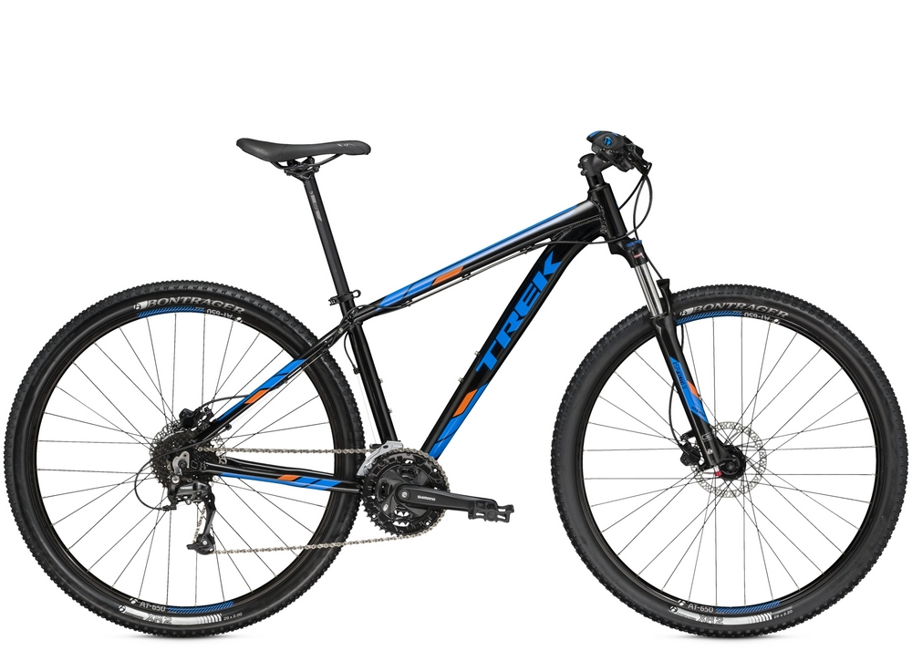 Trek Marlin 7 Trek Black/Waterloo Blue 2016