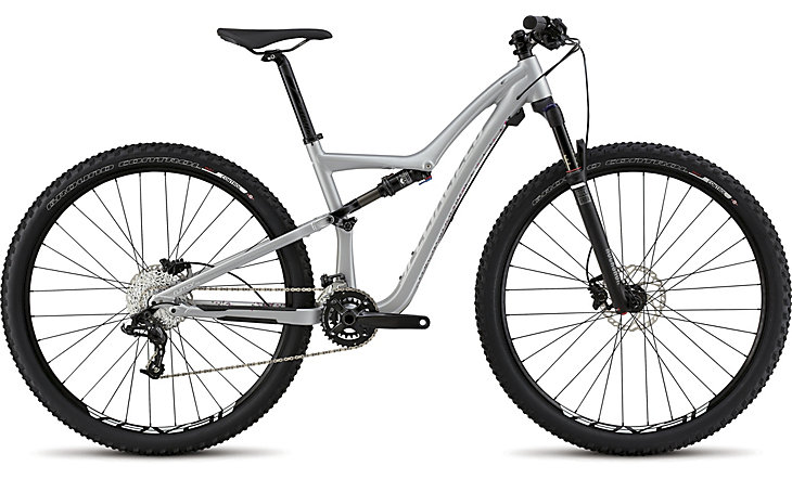 Specialized Rumor FSR Comp 29 silver/white/charcoal/pink 2015 - L